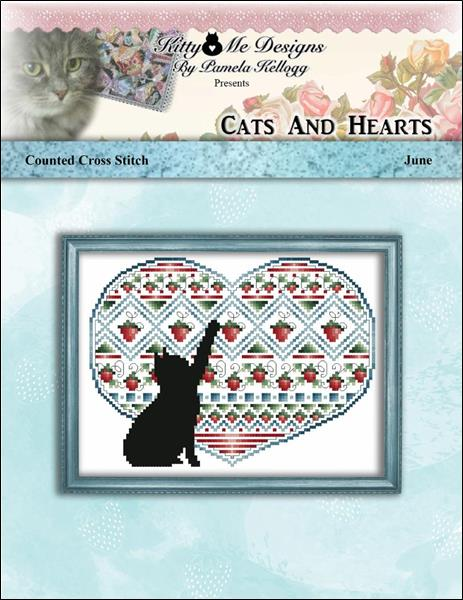 Cats and Hearts June - click here for more details about chart