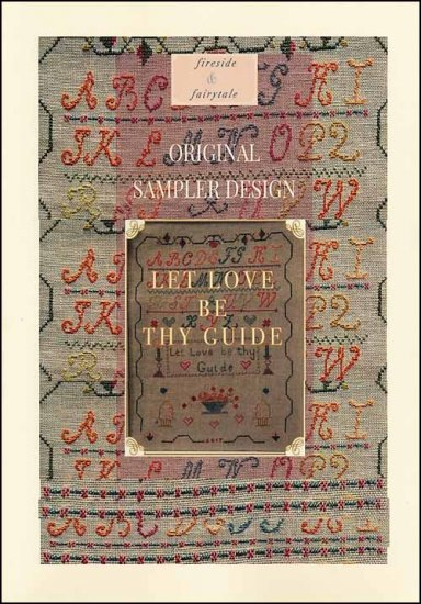 click here to view larger image of Let Love Be Thy Guide (chart)