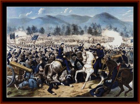 click here to view larger image of Battle of Gettysburg - Americana (chart)