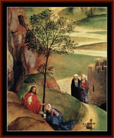 click here to view larger image of Advent & Triumph of Christ - Memling (chart)