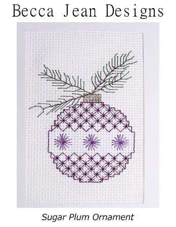 click here to view larger image of Sugar Plum Ornament (chart)