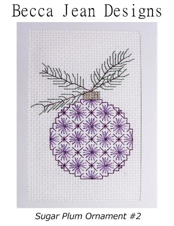 click here to view larger image of Sugar Plum Ornament 2 (chart)