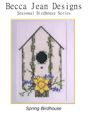click here to view larger image of Spring Birdhouse - Seasonal Birdhouse Series (chart)
