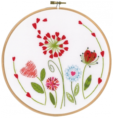 click here to view larger image of Flowers (embroidery kit)