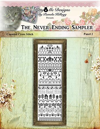 click here to view larger image of Never Ending Sampler Panel 2 (chart)