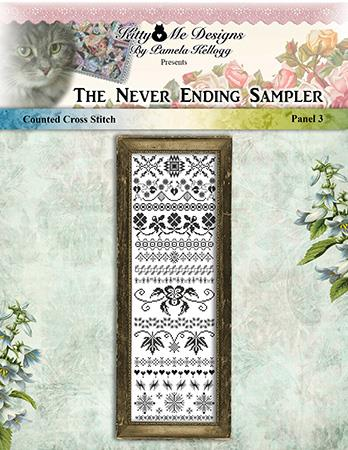 click here to view larger image of Never Ending Sampler Panel 3 (chart)