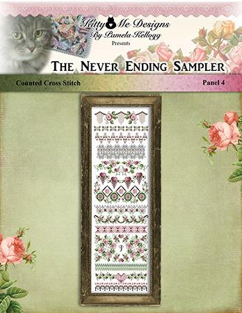 click here to view larger image of Never Ending Sampler Panel 4 (chart)