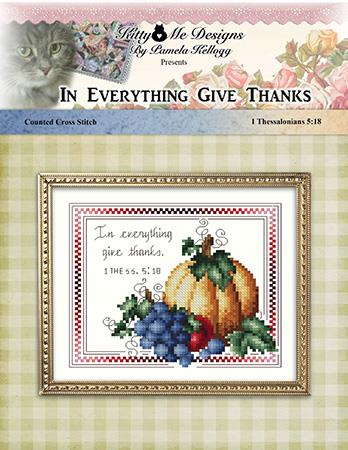 click here to view larger image of In Everything Give Thanks (chart)