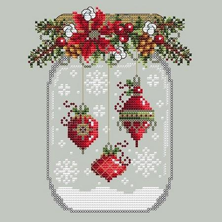 click here to view larger image of Ornament Snow Globe (chart)