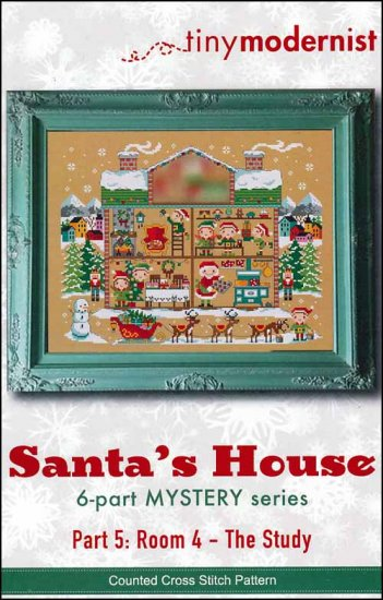 click here to view larger image of Santa's House Part 5 (chart)