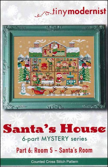 click here to view larger image of Santa's House Part 6 (chart)
