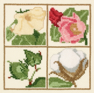 click here to view larger image of Cotton - Bloom to Boll (counted cross stitch kit)