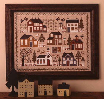 click here to view larger image of Village Sampler (chart)