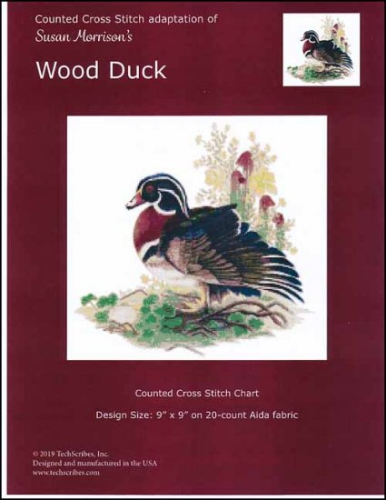 click here to view larger image of Wood Duck (chart)