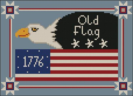 click here to view larger image of 1776 Old Flag (chart)