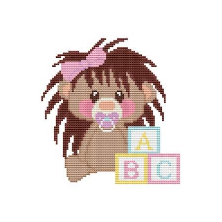 click here to view larger image of Baby Hedgehog ABC (chart)