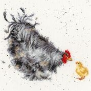 click here to view larger image of Mother Hen (counted cross stitch kit)