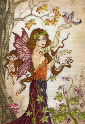 click here to view larger image of Autumn Song (counted cross stitch kit)