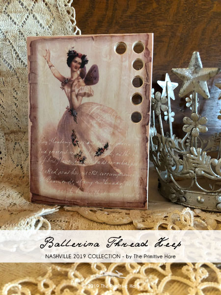 click here to view larger image of Ballerina Thread Keep (Storage and Craft Organisers)
