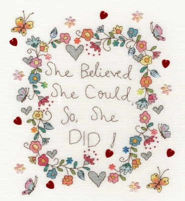 click here to view larger image of Love Note (counted cross stitch kit)