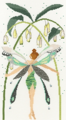 click here to view larger image of Crystal (counted cross stitch kit)