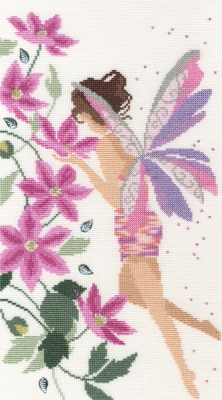 click here to view larger image of Flora (counted cross stitch kit)