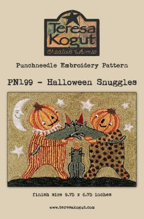 click here to view larger image of Halloween Snuggles (Punchneedle)