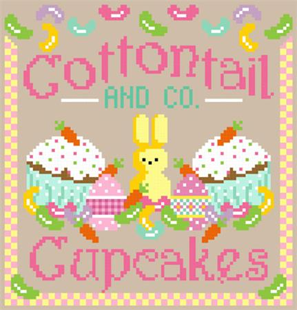 click here to view larger image of Cottontail and Co Cupcakes (chart)