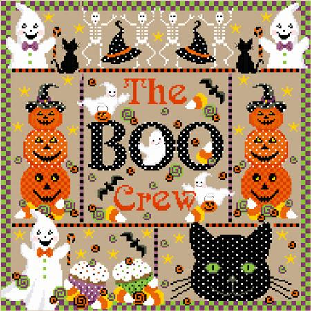 click here to view larger image of Boo Crew, The (chart)
