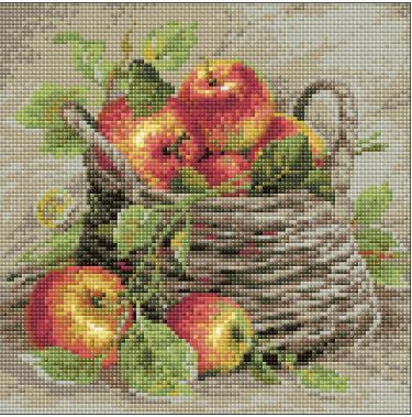 click here to view larger image of Ripe Apples (Diamond Embroidery)