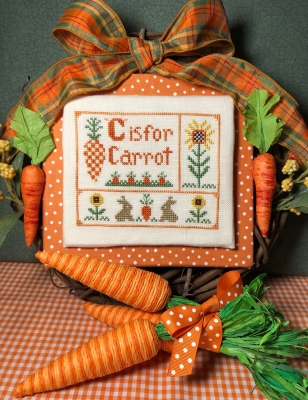 C is for Carrot - click here for more details about chart