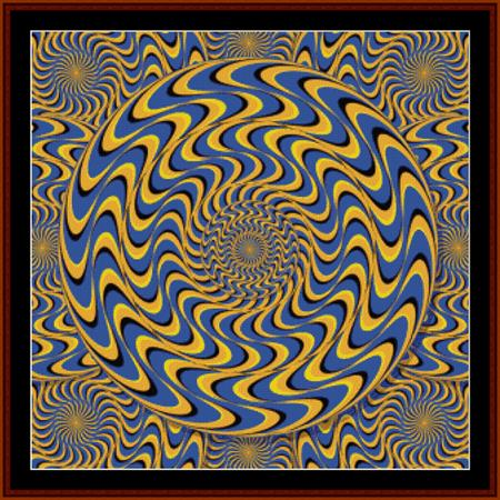click here to view larger image of Optical Illusion 8 - Geometric (chart)