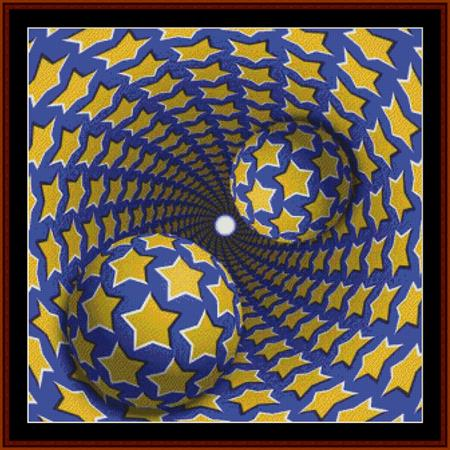 click here to view larger image of Optical Illusion 7 - Geometric (chart)