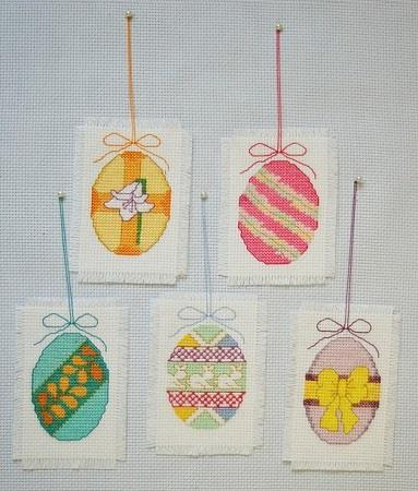 Easter Ornaments - click here for more details about chart