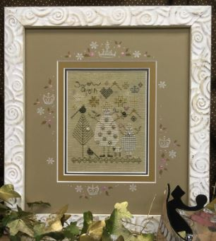 Snow Queen - click here for more details about counted cross stitch kit