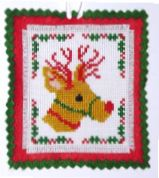click here to view larger image of Christmas Reindeer Ornament (chart)