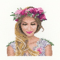 click here to view larger image of Emily Miniature (counted cross stitch kit)