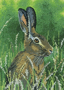 click here to view larger image of Hare (counted cross stitch kit)
