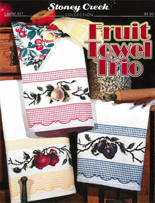 click here to view larger image of Fruit Towel Trio (chart)
