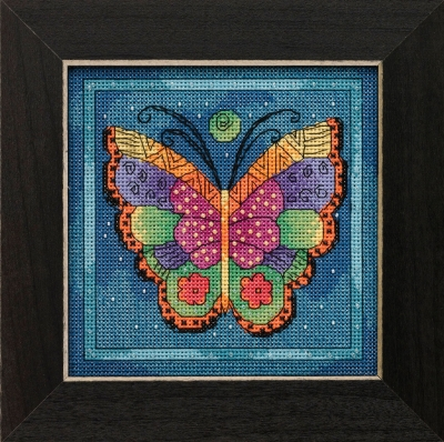 click here to view larger image of Butterfly Capri  (counted cross stitch kit)