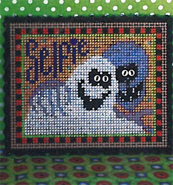 click here to view larger image of Ghoul Friends Kit (counted cross stitch kit)