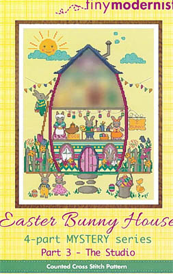 click here to view larger image of Easter Bunny House Series - Part 3 (chart)