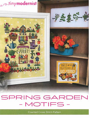 click here to view larger image of Spring Garden Motifs (chart)