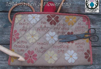click here to view larger image of Stitch A Flower Bag (chart)