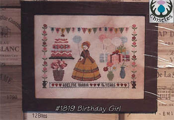 click here to view larger image of Birthday Girl (chart)