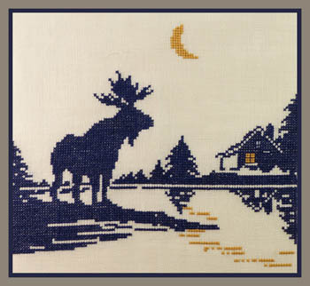 click here to view larger image of Moose Silhouette 2 (chart)