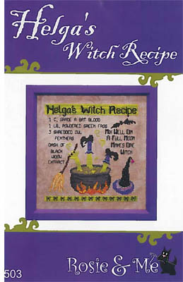 click here to view larger image of Helga's Witch Recipe (chart)