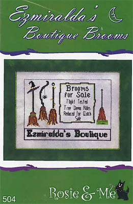 click here to view larger image of Ezmiralda's Boutique Brooms (chart)