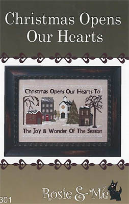 click here to view larger image of Christmas Opens Our Hearts (chart)
