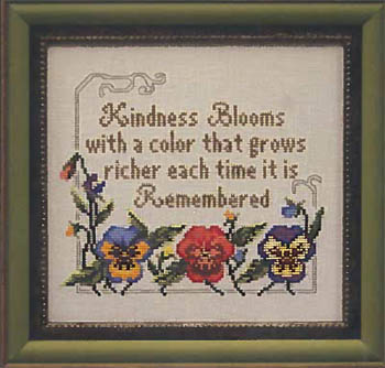 click here to view larger image of Kindness Blooms (chart)